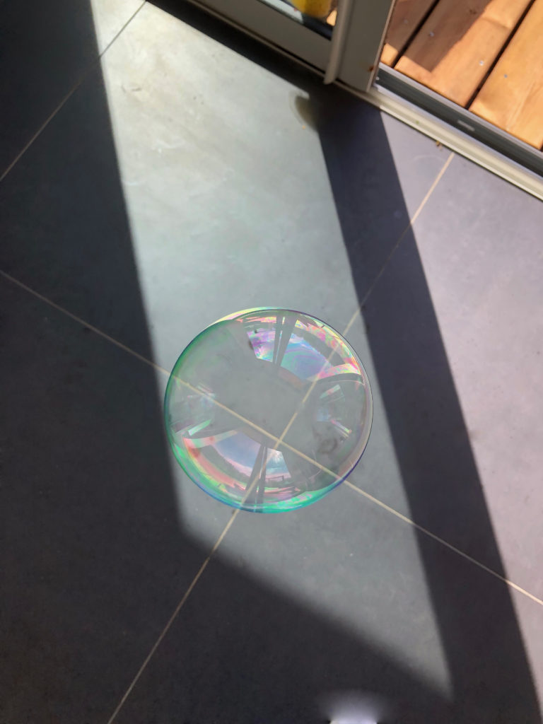 Les bulles de savon maison