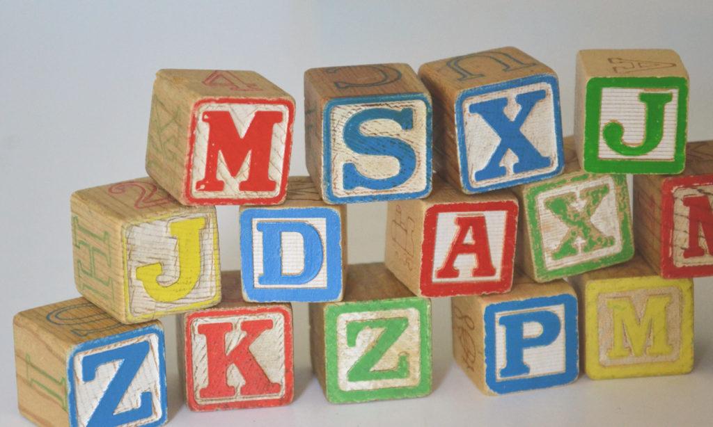 Apprendre l'alphabet