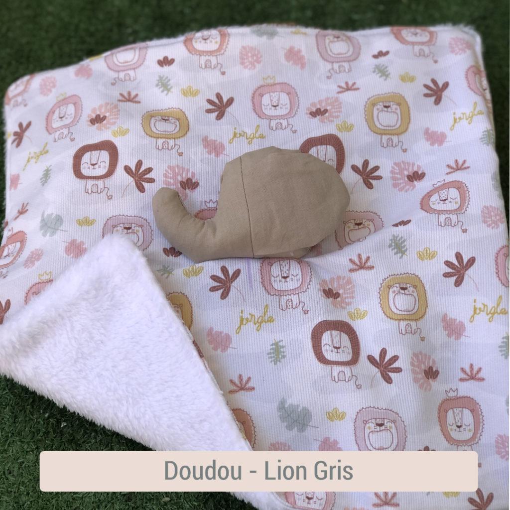 Doudou bio bébé en tissu