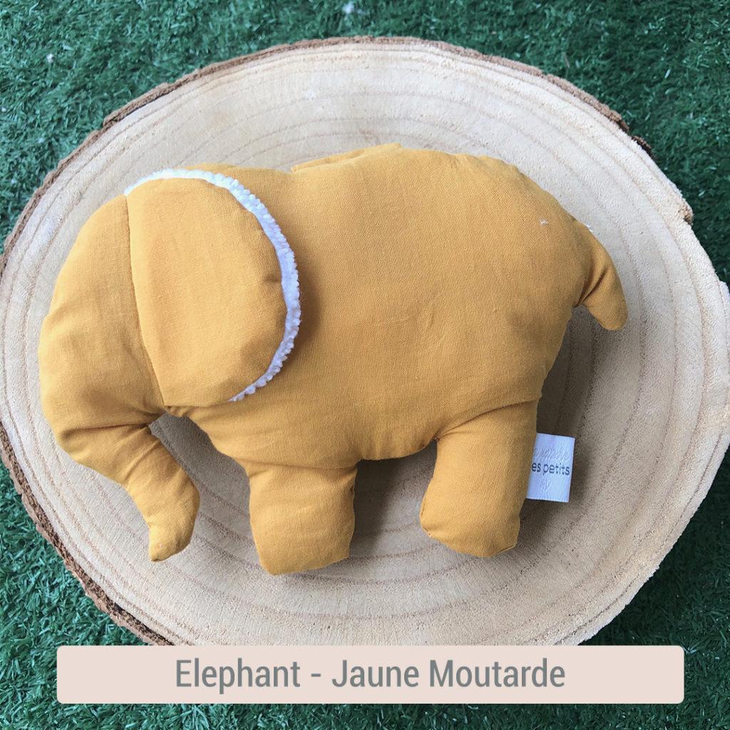 elephant en tissus éveil bébé