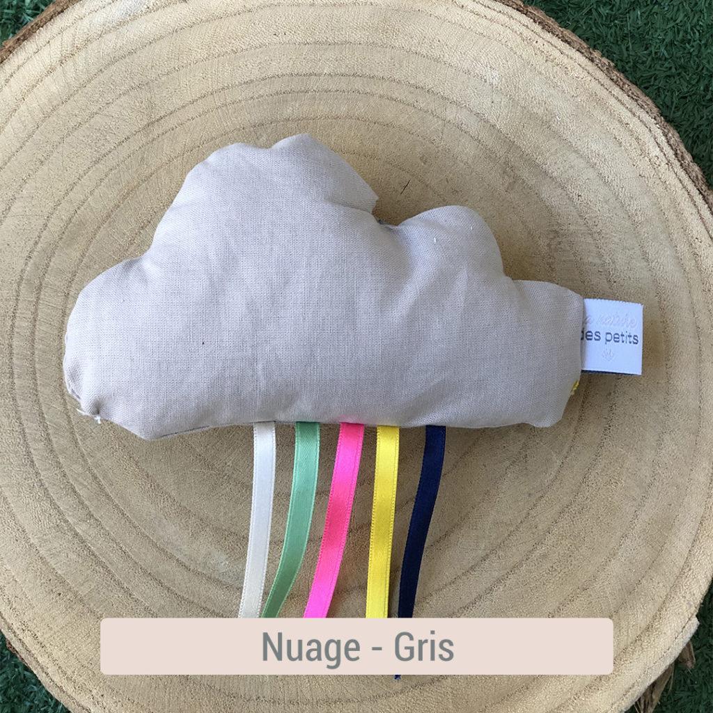 nuage en tissu bio pour bébé