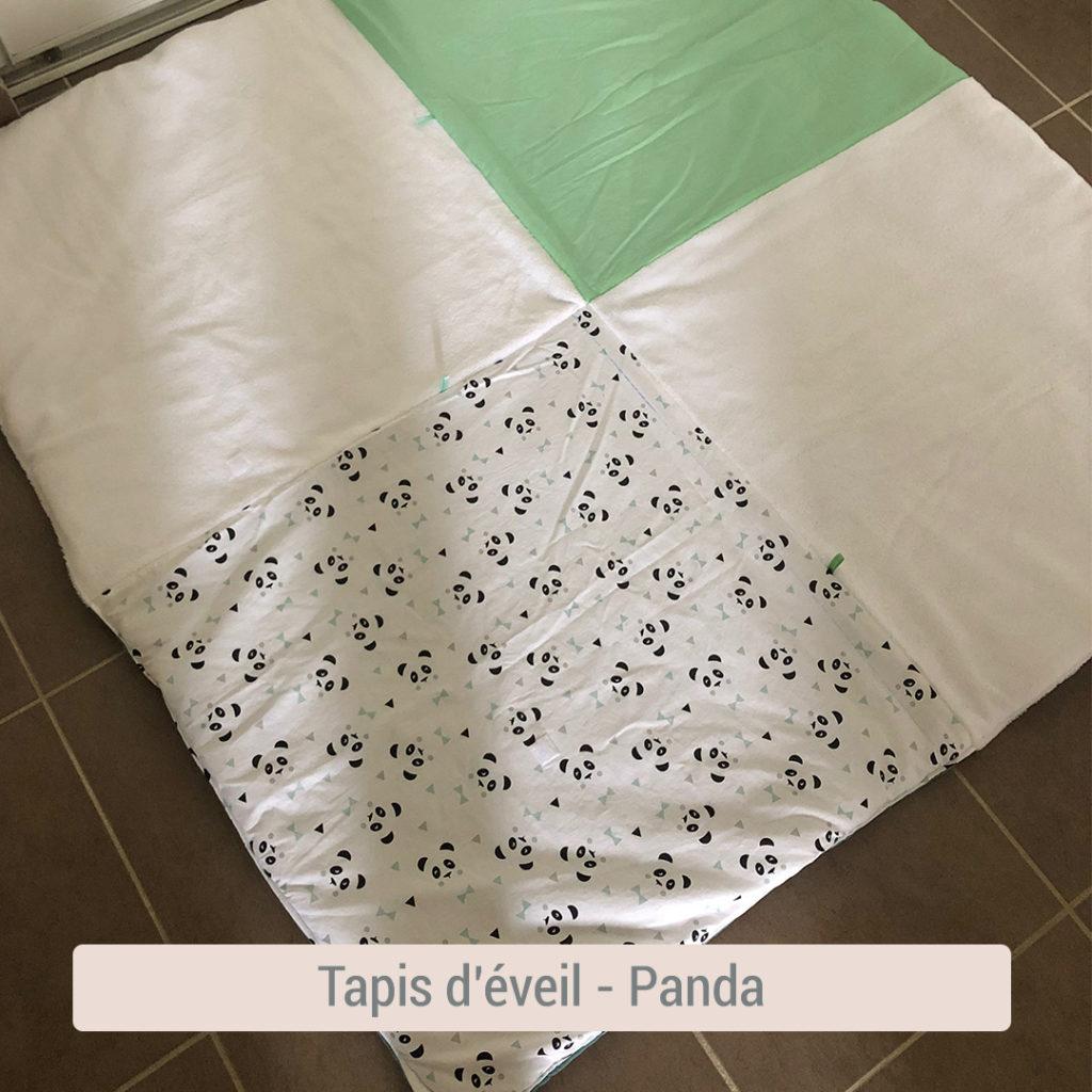 tapis d'éveil pour bébé bio