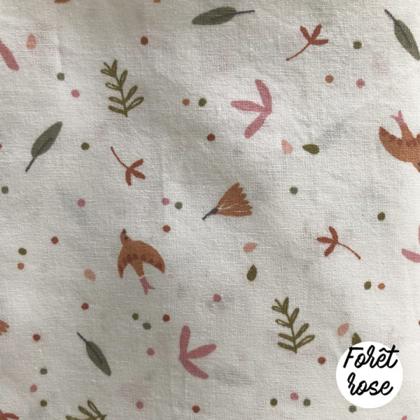tissus-imprimés-foret-rose