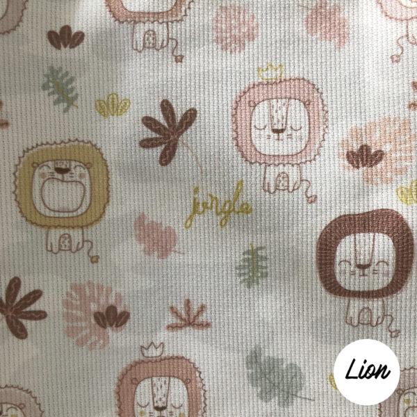 tissus-imprimés-LION