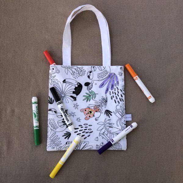 tote-bag à colorier