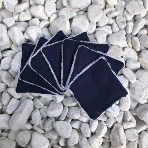 lot-de-7-carres-nettoyant-plumetis-bleu-marine