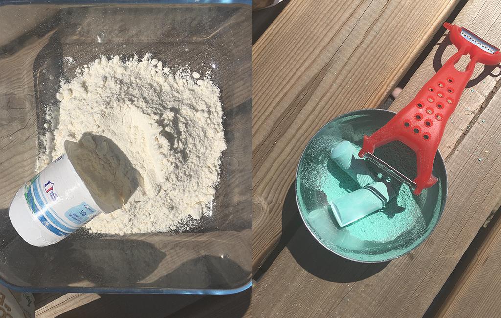 le sable magique